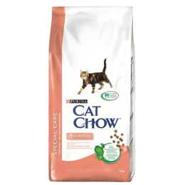 Cat Chow корм для кошек с чувствительным пищеварением