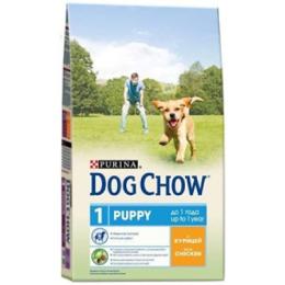 """Dog Chow puppy корм для щенков """"Курица"""""""