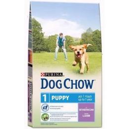 "Dog Chow puppy корм для щенков ""Ягненок"""