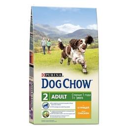 "Dog Chow adult корм для взрослых собак ""Курица"""