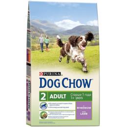 """Dog Chow adult корм для взрослых собак """"Ягненок"""""""