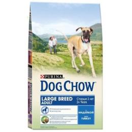 """Dog Chow large breed корм для взрослых собак крупных пород """"Индейка"""""""