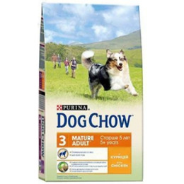 "Dog Chow mature корм для собак старше 5 лет ""Курица"""