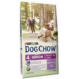 """Dog Chow senior корм для собак старше 9 лет """"Ягненок"""""""