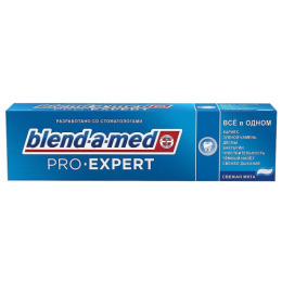"Blend-a-med зубная паста ""ProExpert. Всё в одном. Свежая мята"""