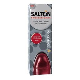 Salton крем для обуви в тубе, красный