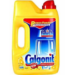 """finish средство для мытья посуды """"POWER POWDER. Лимон"""" в посудомоечных машинах порошкообразное"""