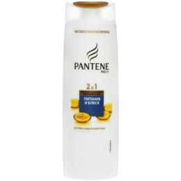 """Pantene шампунь """"2 в 1. Питание и Блеск"""" для тусклых и сухих волос"""