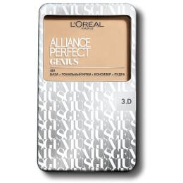"""L'Oreal тональный крем """"Alliance Perfect Genius 4-В-1"""" , 7 г"""