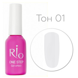 "Platinum Collection лак для ногтей ""RIO. One step gel-effect"", 8 мл"