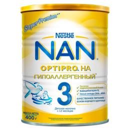 NAN Гипоаллергенный 3 OPTIPRO HA Сухая молочная смесь для детей