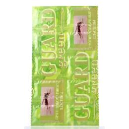 Guard пластины без запаха зеленая фольга поперечная