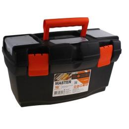 """Пластик центр ящик для инструментов """"Master 16"""" черный оранжевый"""