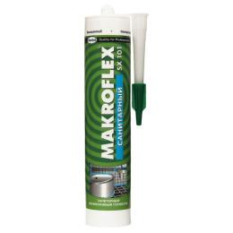 Makroflex герметик санитарный силикононвый прозрачный SX/SX101