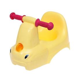 """Little Angel горшок-игрушка """"Грузовичок"""" желтый пастельный"""