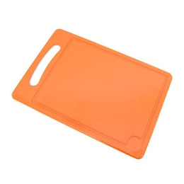 Пластик центр доска разделочная №4 оранжевая