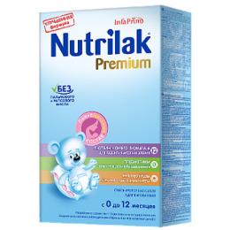 "Nutrilak молочная смесь ""Адаптационная. Premium"" с 0 до 12 месяцев, 350 г"