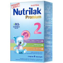 "Nutrilak молочная смесь ""Адаптационная. Premium 2"" с 6 до 12 месяцев"
