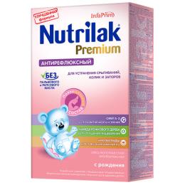 """Nutrilak молочная смесь """"Premium. Антирефлюкс"""" 0+, 350 г"""