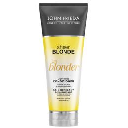 """John Frieda кондиционер """"Sheer Blonde. Go Blonder"""" осветляющий для натуральных, мелированных и окрашенных волос, 250 мл"""