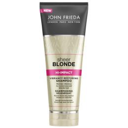 """John Frieda шампунь """"Sheer Blonde. Hi-Impact """"для сильно поврежденных волос , восстанавливающий, 250 мл"""