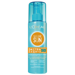 "L'Oreal спрей ""Sublime Sun"" защита на клеточном уровне SPF 50"