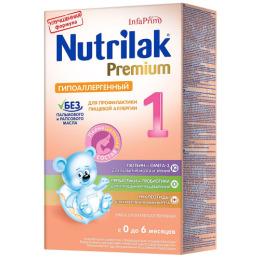 """Nutrilak молочная смесь """"Premium 1"""" гиппоаллергенная"""