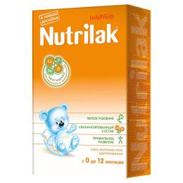 Nutrilak молочная смесь с 0-12 месяцев, 350 г
