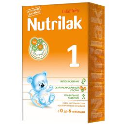 Nutrilak молочная смесь 1 с 0-6 месяцев, 350 г