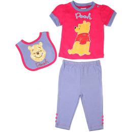 """Disney набор одежды """"Винни 3. Розовый"""" предмета на вешалке"""