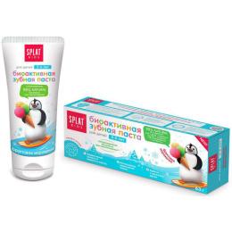 """Splat зубная паста для детей 2-6лет """"KIDS. Фруктовое мороженое"""", 50 мл"""