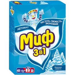 """Миф стиральный порошок """"Автомат 3 в 1. Морозная свежесть"""""""