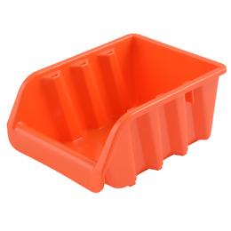 Пластик центр лоток для метизов, оранжевый