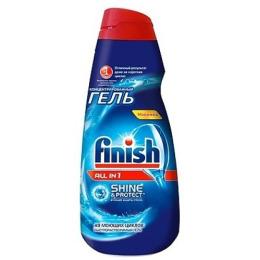 """finish средство для мытья посуды в посудомоечных машинах """"Shine&Protect. All in1"""" гель, 1 л"""