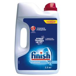 """finish средство для мытья посуды """"POWER POWDER"""" в посудомоечных машинах порошкообразное"""