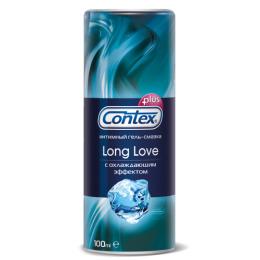 """Contex гель-смазка интимный """"Plus Long Love"""" с охлаждающим эффектом, 30 мл"""
