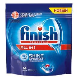 """finish таблетки для посудомоечных машин """"All in1"""""""