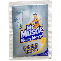 Мистер Мускул чистящее и моющее средство для засоpенных тpуб 70г 2 1