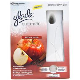 """Glade освежитель воздуха """"Automatik. Яблоко и корица"""" основной блок"""