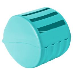 Пластик центр держатель для туалетной бумаги, бирюзовый