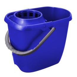 Svip ведро МОП с отжимом прямоугольное 13 л, синие