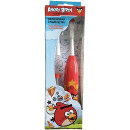 """Longa Vita зубная щетка детская вибрационная с часами """"Angry Birds"""" от 3 лет"""