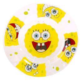 "Мфк тарелка ""Губка Боб. Улыбки"" 19.5 см"