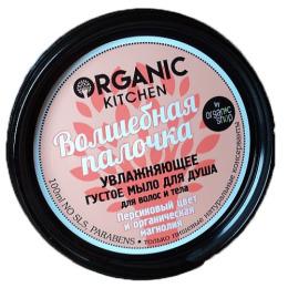 """Organic Shop мыло для душа """"Organic Kitchen. Волшебная палочка""""  увлажняющее густое для волос и тела, 100 мл"""