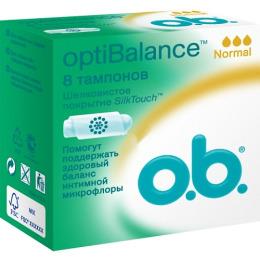 "o.b. тампоны ""optiBalance Normal"", 8 шт"