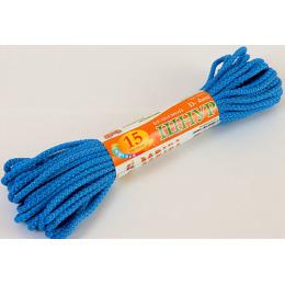 Хозяюшка Мила шнур бельевой D-4 мм L-15 м цветной