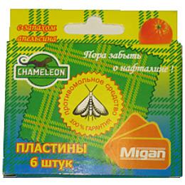 """Chameleon пластины против моли """"Апельсин"""" коробка"""