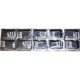 Migan пластины серебрянная фольга