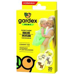 """Gardex пластыри """"Baby"""" после укусов насекомых"""