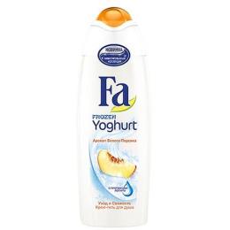 """Fa крем-гель для душа """"Frozen Yoghurt. Аромат белого персика"""""""
